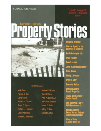 Property Stories, 2d ebook by Gerald Korngold,Andrew Morriss