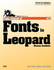 Take Control of Fonts in Leopard ebook by Sharon Zardetto