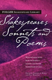 Shakespeare's Sonnets & Poems ebook by William Shakespeare,Dr. Barbara A. Mowat,Paul Werstine, Ph.D.