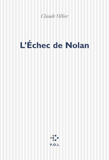 L'Échec de Nolan ebook by Claude Ollier