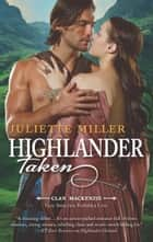 Highlander Taken ebook by Juliette Miller