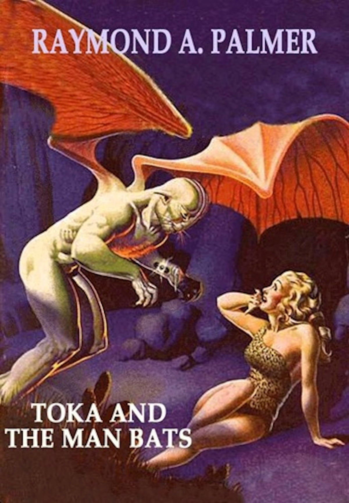 Toka and the Man Bats [Toka #2]