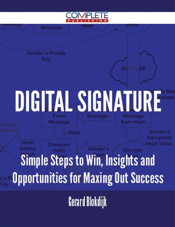 Digital Signature - Simple Steps to Win, Insights and Opportunities for Maxing Out Success ebook by Gerard Blokdijk