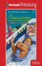 Baby in a Million ekitaplar by Rebecca Winters