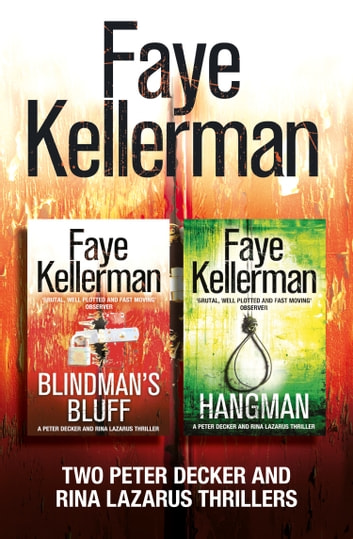 peter decker 2 book thriller collection blindman s bluff hangman peter decker and rina. Black Bedroom Furniture Sets. Home Design Ideas