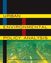 Urban Environmental Policy Analysis ebook by Elizabeth A Corley,Heather E. Campbell