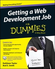 Getting a Web Development Job For Dummies ebook by Kathleen Taylor,Bud E. Smith