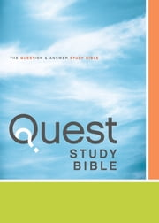 NIV, Quest Study Bible, eBook - The Question and Answer Bible ebook by Christianity Today Intl.