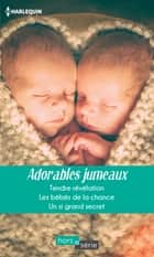 Adorables jumeaux - Tendre révélation - Les bébés de la chance - Un si grand secret eBook by Rebecca Winters, Fiona Lowe, Raye Morgan