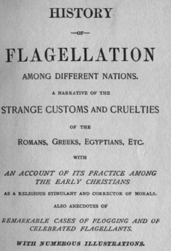 History of Flagellation ebook by Anon Anonymous