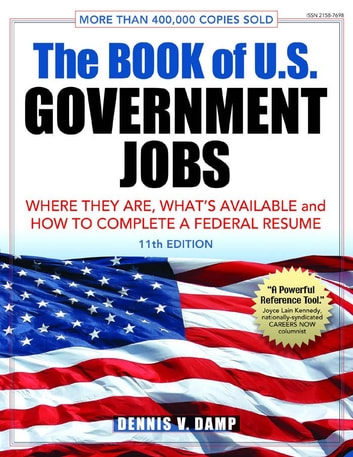 The Book of U S  Government Jobs