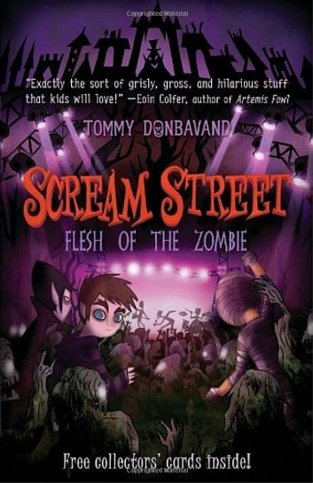 Scream Street 4: Flesh of the Zombie ebook by Tommy Donbavand