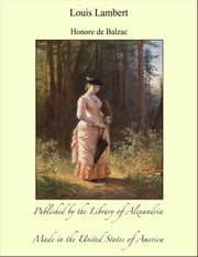Louis Lambert ebook by Honore de Balzac