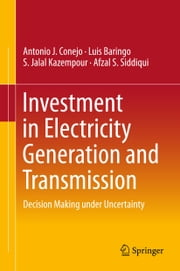 Investment in Electricity Generation and Transmission - Decision Making under Uncertainty ebook by Antonio J. Conejo,Luis Baringo Morales,S. Jalal Kazempour,Afzal S. Siddiqui