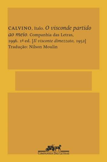 O visconde partido ao meio ebook by Italo Calvino