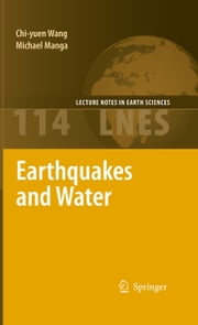 Earthquakes and Water ebook by Chi-yuen Wang,Michael Manga