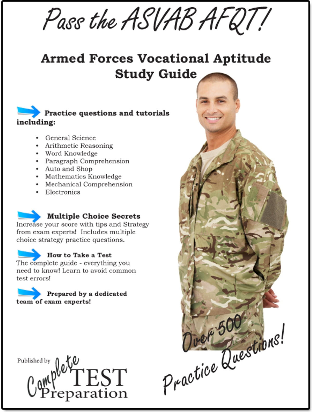 Pass the ASVAB: Complete Armed Services Vocational Aptitude Battery Study  Guide and Practice Questions eBook by Complete Test Preparation Team ...