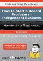 How to Start a Record Producers - Independent Business - How to Start a Record Producers - Independent Business ebook by Erlinda Michaud
