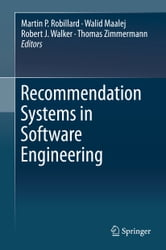 Recommendation Systems in Software Engineering ebook by