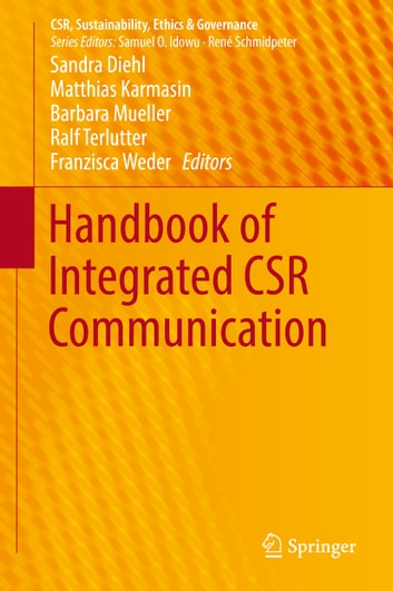 Handbook of Integrated CSR Communication ebook by