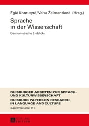 Sprache in der Wissenschaft ebook by Kobo.Web.Store.Products.Fields.ContributorFieldViewModel