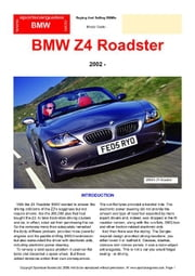 BMW Z4 Roadster Buyers' Guide ebook by Mellor, Chris
