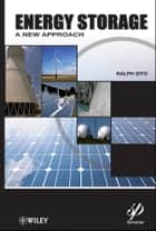 Energy Storage ebook by Ralph Zito