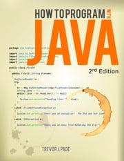 How to Program with Java eBook ebook by Trevor J Page