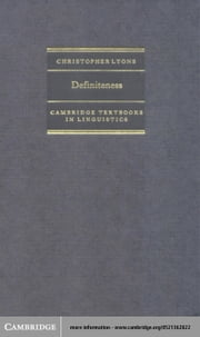 Definiteness ebook by Lyons, Christopher