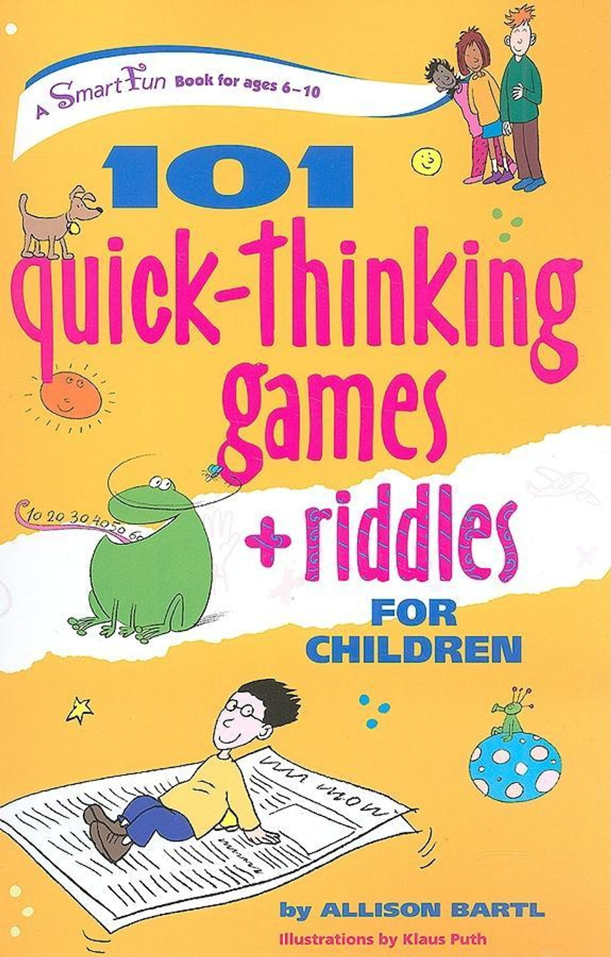 101 Quick Thinking Games and Riddles eBook by Allison Bartl - 9780897935326  | Rakuten Kobo