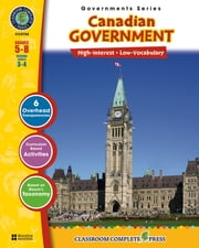 Canadian Government Gr. 5-8 ebook by Brenda Rollins