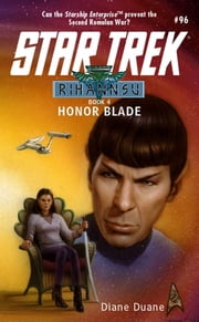 Honor Blade - Rihannsu #4 ebook by Diane Duane
