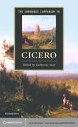 The Cambridge Companion to Cicero