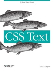 CSS Text ebook by Eric A. Meyer