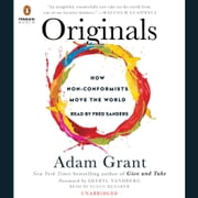 Originals - How Non-Conformists Move the World audiobook by Adam Grant