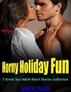 Erotica: Horny Holiday Fun, 7 Erotic Sex Adult Short Stories Collection ebook by