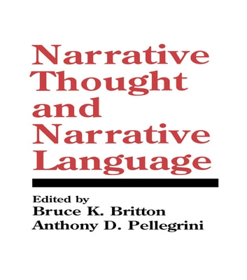 Narrative Thought and Narrative Language ebook by