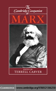 The Cambridge Companion to Marx ebook by Carver, Terrell