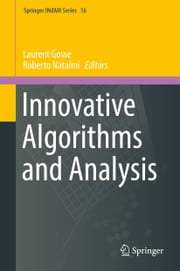 Innovative Algorithms and Analysis ebook by Laurent Gosse, Roberto Natalini
