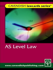 Cavendish: AS Level Lawcard ebook by Routledge-Cavendish