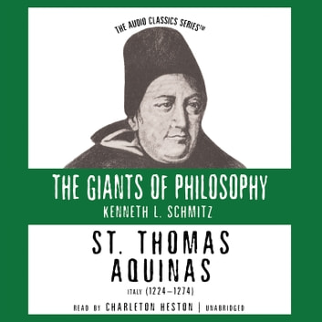 St. Thomas Aquinas audiobook by Kenneth L. Schmitz,Pat Childs