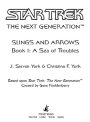 Star Trek: The Next Generation: A Sea of Troubles ebook by J. Steven York,Christina F. York