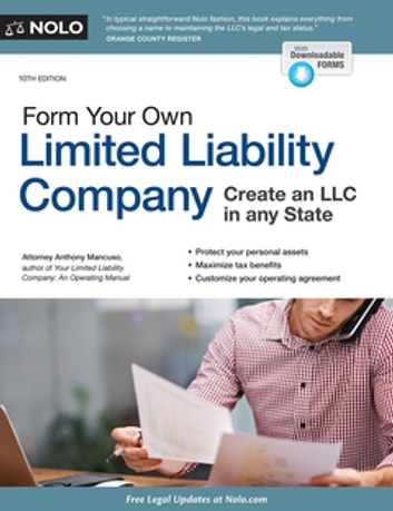 Form Your Own Limited Liability Company ebook by Anthony Mancuso, Attorney