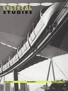 Cultural Studies V2 Issue 1 ebook by JOHN FISKE