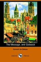 Gobseck ebook by Honore De Balzac