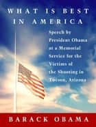 What Is Best in America ebook by Barack Obama