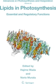 Lipids in Photosynthesis - Essential and Regulatory Functions ebook by Hajime Wada,Norio Murata