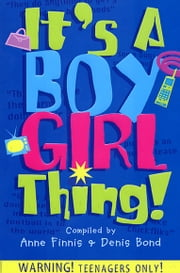 It's A Boy Girl Thing ebook by Anne Finnis