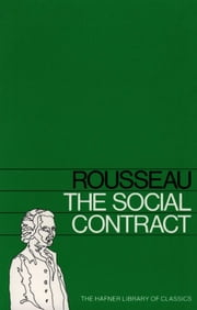 Social Contract ebook by Jean Jacques Rousseau