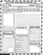 Instant Personal Poster Sets: Extra, Extra, Read All About Me!: 30 Big Write-and-Read Learning Posters Ready for Kids to Personalize and Display With ebook by Garfield, Valerie